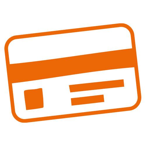 Icon einer Kreditkarte
