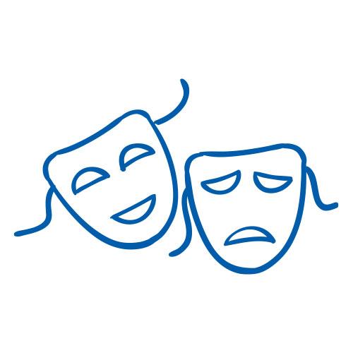Icon von Masken