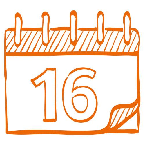 Icon eines Kalenders
